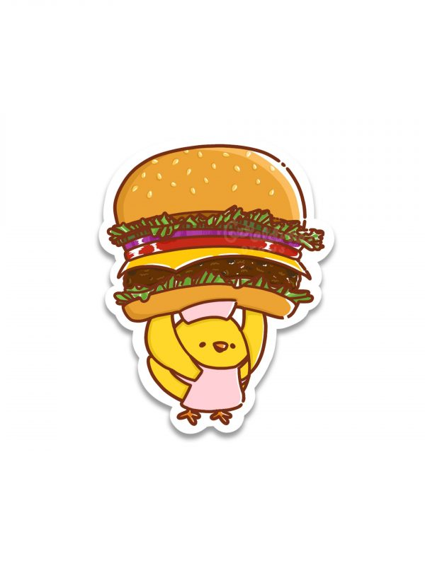 Cheeseburger Sticker 1