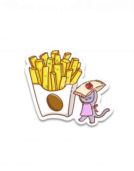 Fries Sticker 1