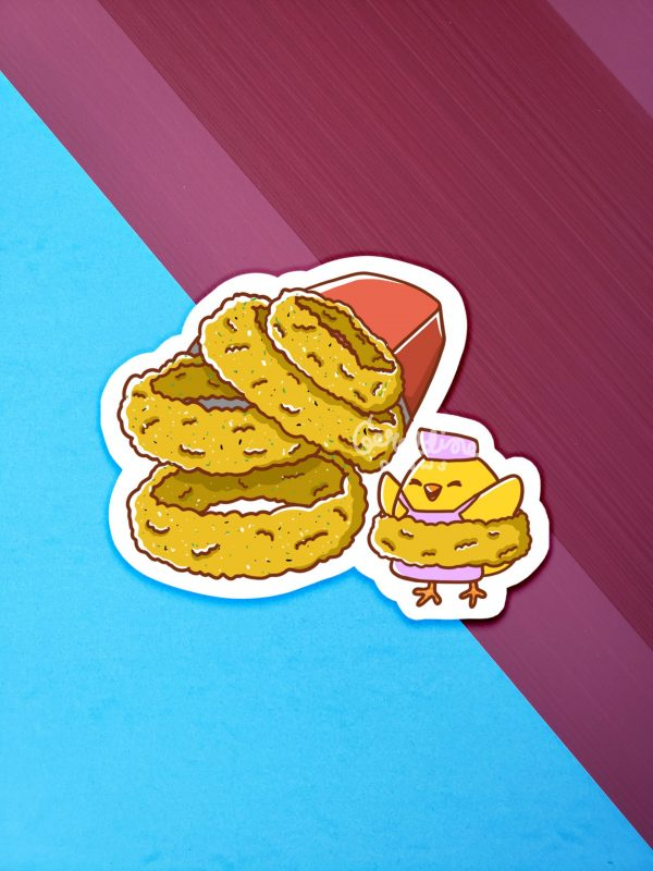 Onion Rings Sticker 2