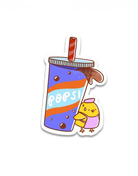 Popsi Soda Sticker Image 1
