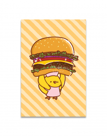 Cheeseburger Art Print Image 1