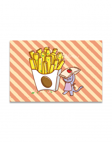 Fries Art Print Image 1