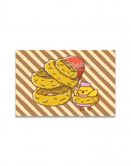 Onion Rings Art Print Image 1