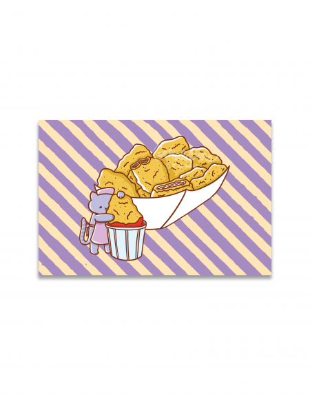 Chicken Nuggets Art Print Image 1