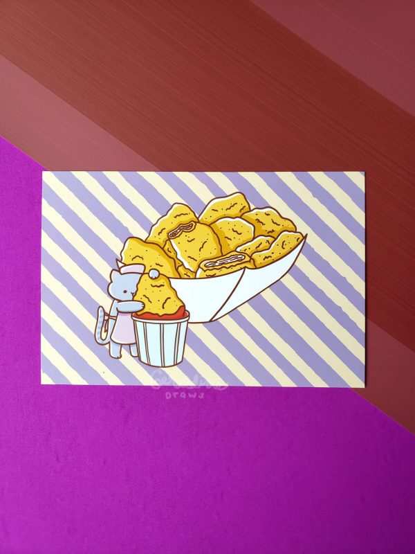 Chicken Nuggets Art Print Image 3