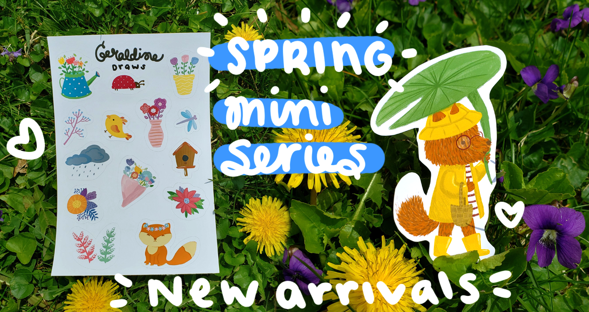 New Spring stickers cover