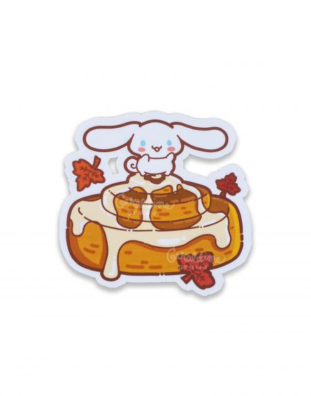 cinnamoroll sticker on white bg