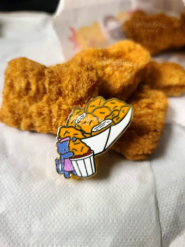 chicken nuggets pin
