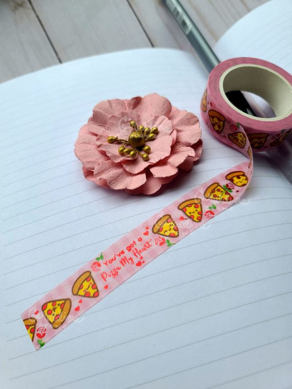 pizza my heart washi tape view 1